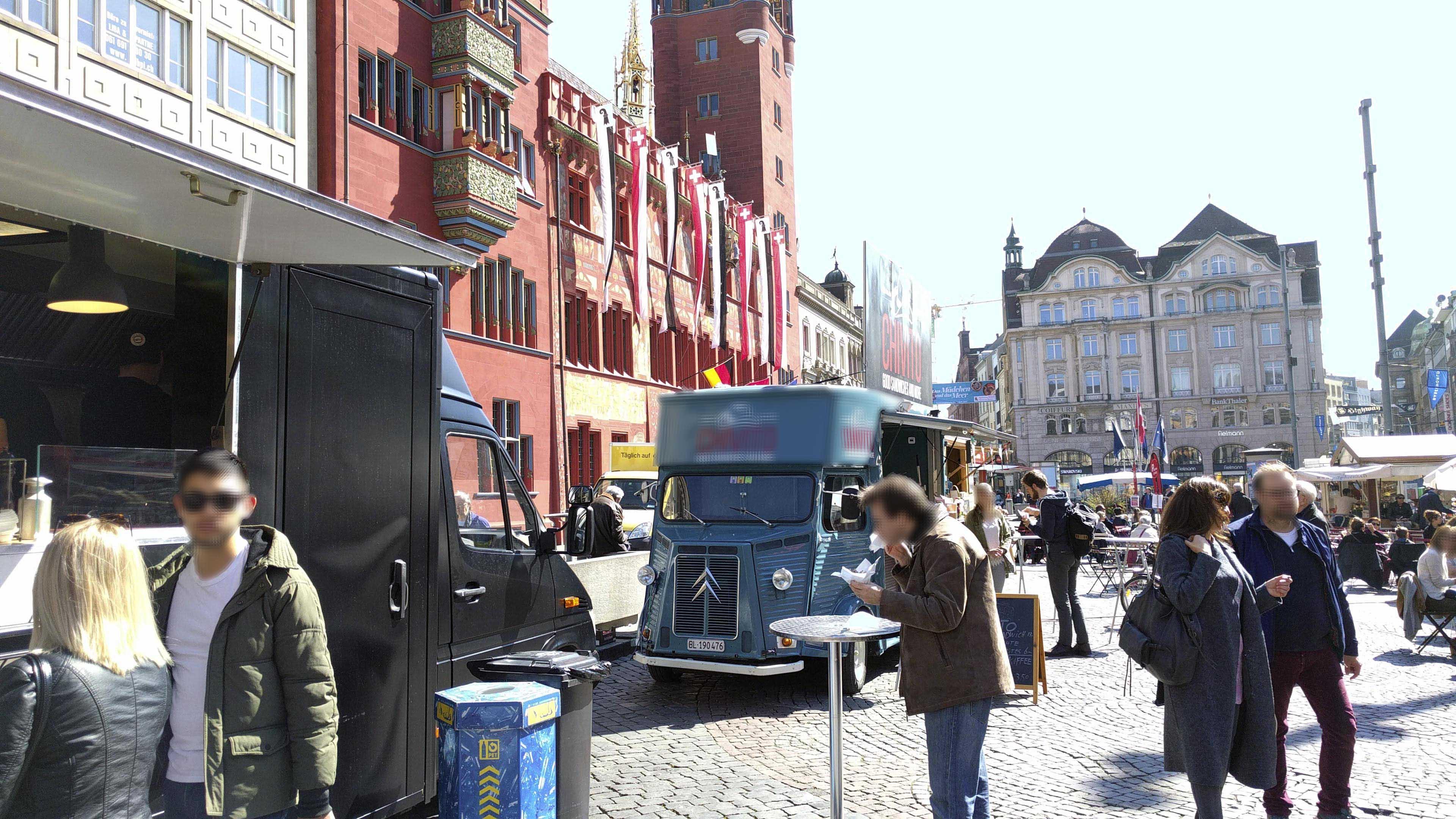 Wann werden die ersten Restaurants im Gundeli durch staatlich geförderte mobile Essensanbieter verdrängt?