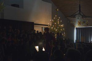 Weihnachtssingen, eine schöne Abwechslung für Kinder und Eltern
