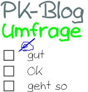 Umfrage zum PK-Bog