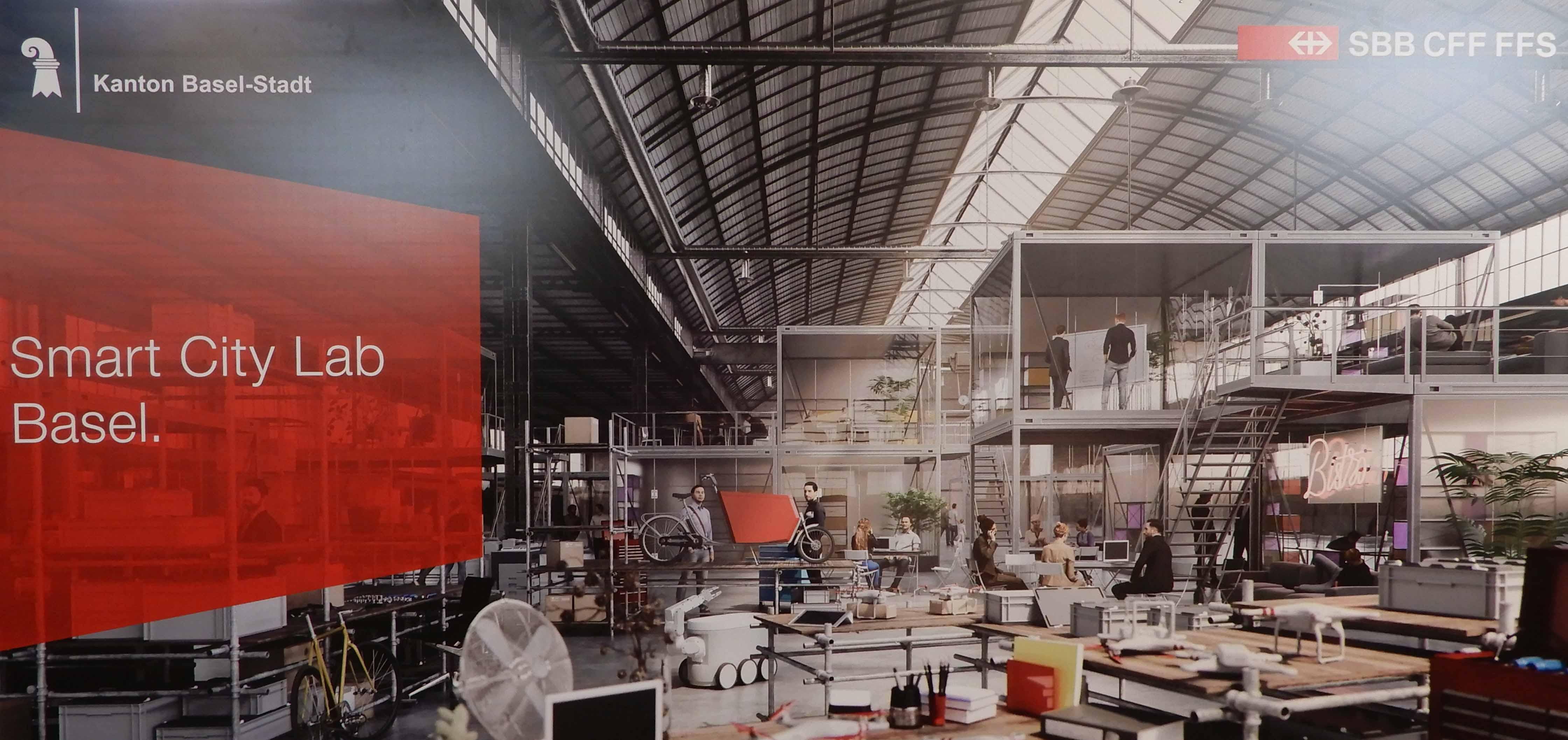 """Wer (miss) braucht hier wen? Die SBB, Basel und die Schweiz oder umgekehrt? <em><span style=""""font-size: 12pt;"""">Zur Eröffnung des «Smart City Labs» der SBB auf dem Wolf-Areal</span></em>"""